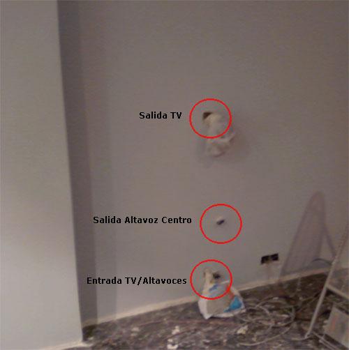 Como instalar tv en la pared sin verse cables p gina 2 - Colgar la tele en la pared ...